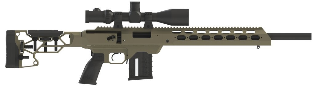 MDT Skeleton Rifle Butt Stock V5 with Adjustable Butt Pad and Cheek Rest - Australian Tactical Precision