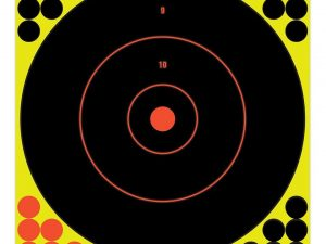 "Birchwood Casey Shoot-N-C 12"" inch Bull's-Eye Target - Pack of 5 #34012 - Australian Tactical Precision"