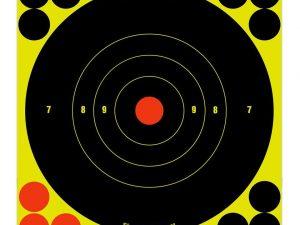 "Birchwood Casey Shoot-N-C 6"" inch Bull's-Eye Target - Pack of 60 #34550 - Australian Tactical Precision"