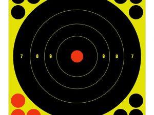 "Birchwood Casey Shoot-N-C 8"" inch Bull's-Eye Target - Pack of 6 #34805 - Australian Tactical Precision"