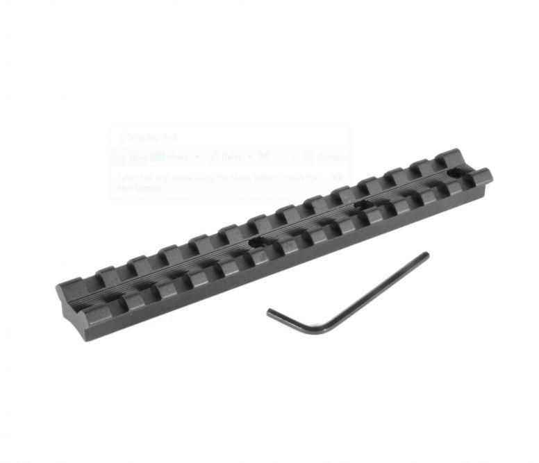 EGW Lightweight Tactical Picatinny Scope Mount Rail Base - Remington - Australian Tactical Precision