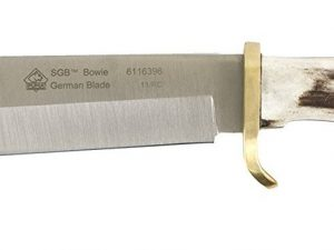 Puma SGB Bowie Knife Stag Handle with Leather Sheath 6116396L - Australian Tactical Precision