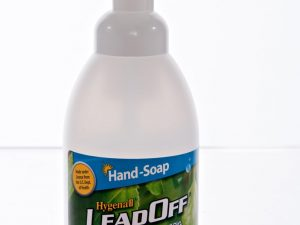 Hygenall LeadOff Lead Decontamination Foaming Hand Wash Soap - 18.5 oz. Foaming Soap Bottle - Australian Tactical Precision
