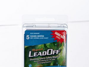 Hygenall LeadOff Lead Decontamination Non-Rinse Disposable Hand and Surface Wipes - 5-Pack of Single Wipes - Australian Tactical Precision