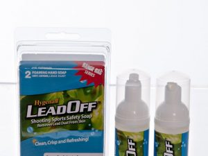 Hygenall LeadOff Lead Decontamination Foaming Hand Wash Soap - 2-Pack of 1.7 oz. bottles - Australian Tactical Precision