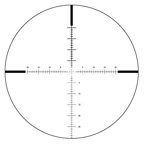 Vixen VIII Series ARTES 5-30x56 Rifle Scope Side Focus ELD20 Illuminated Reticle #82041 - Australian Tactical Precision