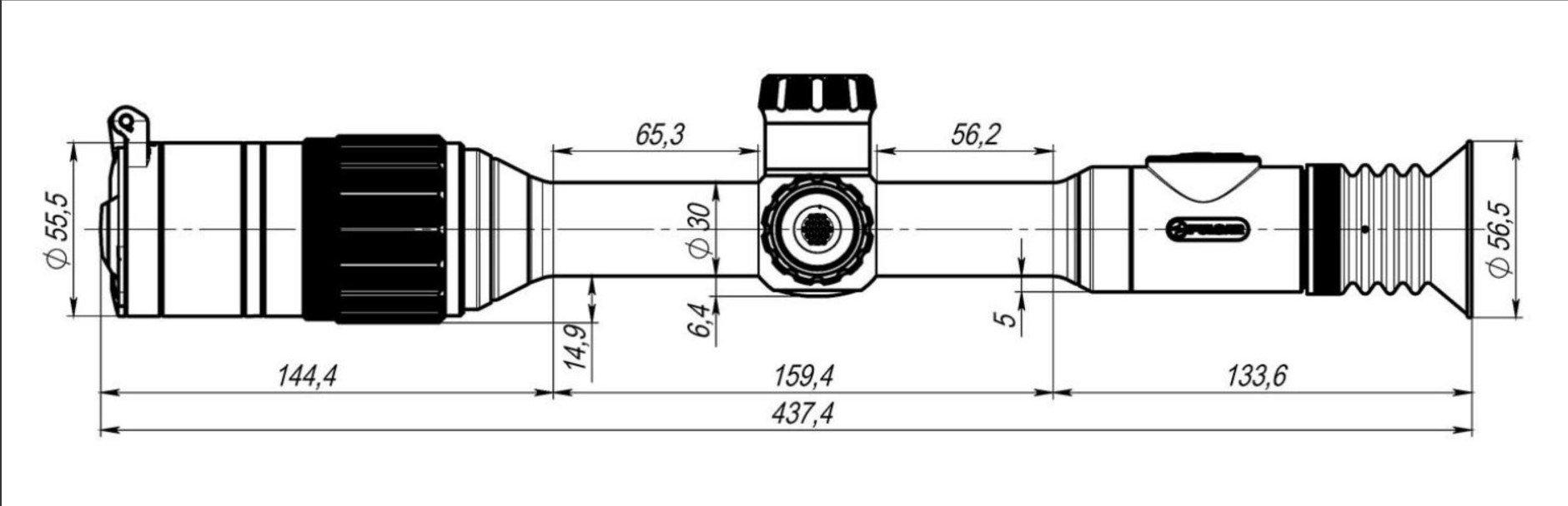 Pulsar Digex N450 4-16x50 Digital Night Vision Rifle Scope - Australian Tactical Precision