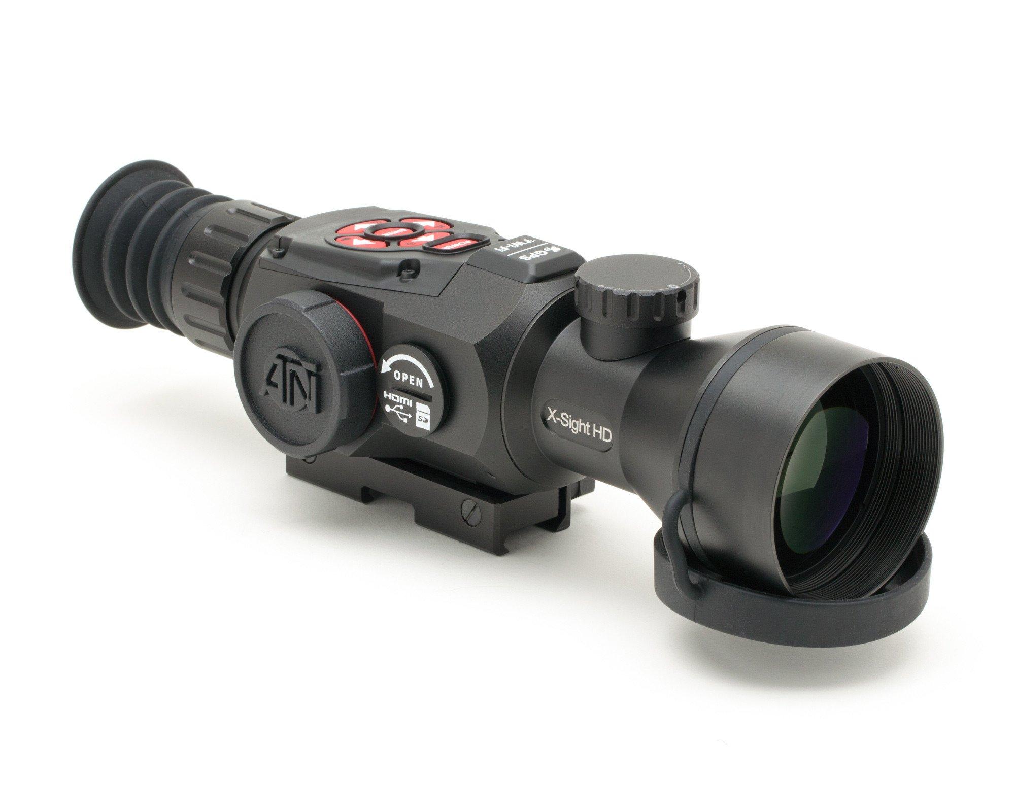 ATN X-Sight II Smart HD 5-20x Day & Night Vision Rifle Scope - Australian Tactical Precision