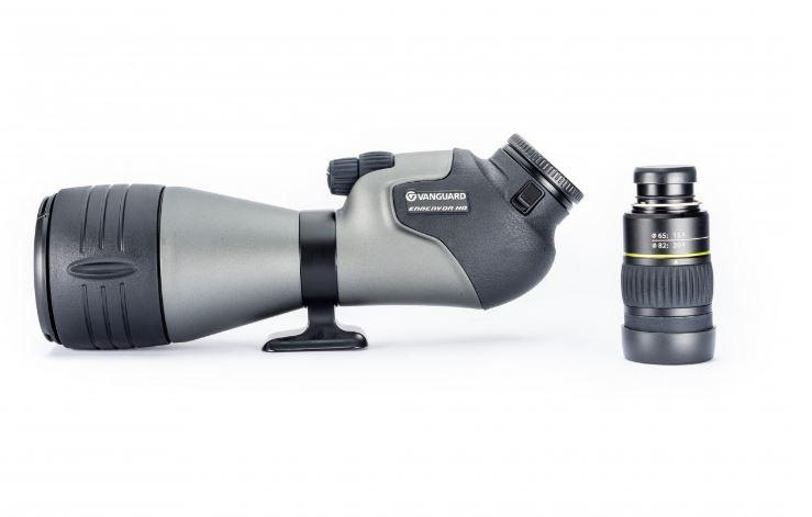 Vanguard Endeavor HD 82A 20-60x82 Angled Spotting Scope (ED Glass) with Soft Case - Australian Tactical Precision