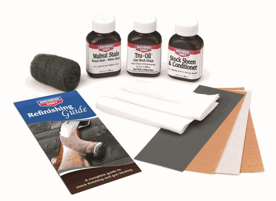 Birchwood Casey Tru-Oil Gun Stock Finish Clam Pack Kit  #23801 - Australian Tactical Precision