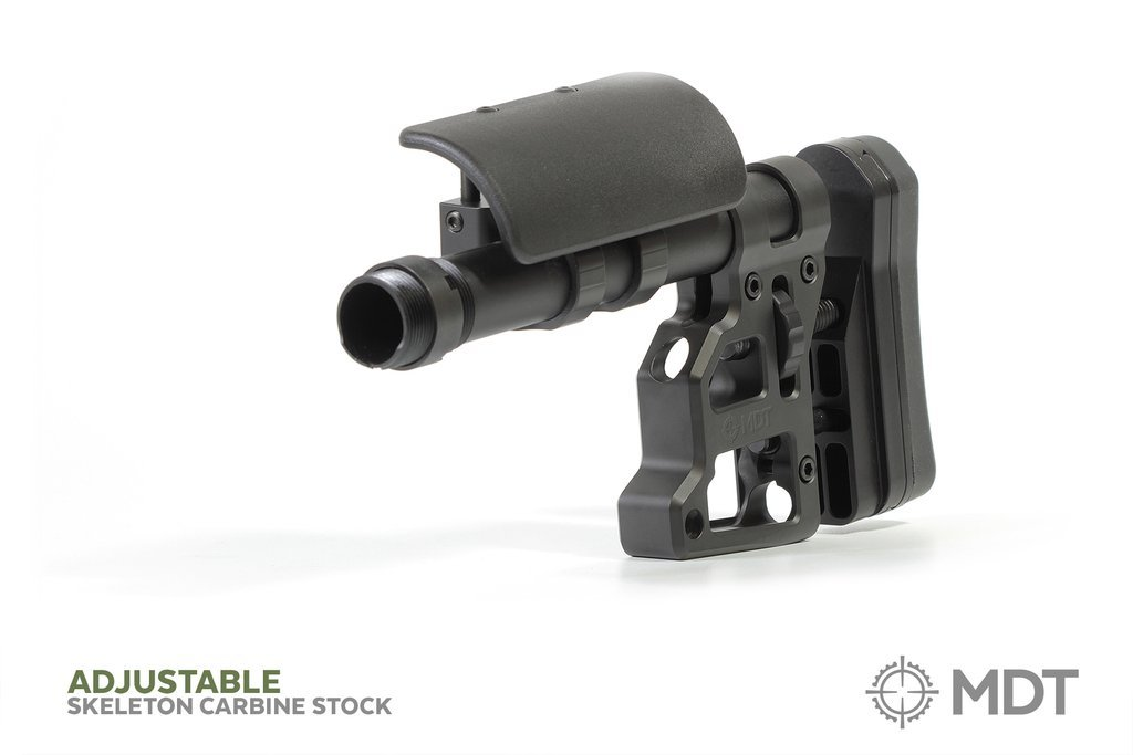 MDT Skeleton Carbine Butt Stock (SCS) with Adjustable Recoil Pad - Australian Tactical Precision