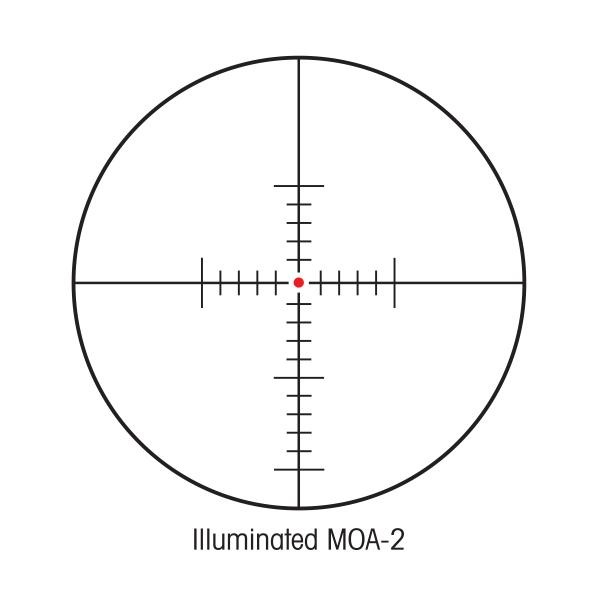 Sightron SIII 6-24x50 SFP Rifle Scope Illuminated MOA-2 IR Reticle #25008 - Australian Tactical Precision