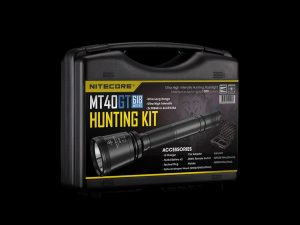 Nitecore MT40GT Hunting Torch Flashlight Kit, Rechargeable, 1000 Lumens, 618m Range - Australian Tactical Precision