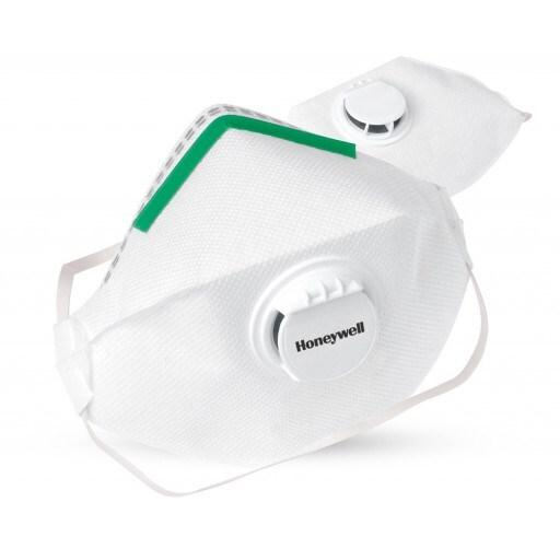 Honeywell 4000 Series Disposable Flat Fold Dust Smoke Mask with Valve P2 (N95) Particulate Filtering Respirator - Box of 10 - Australian Tactical Precision