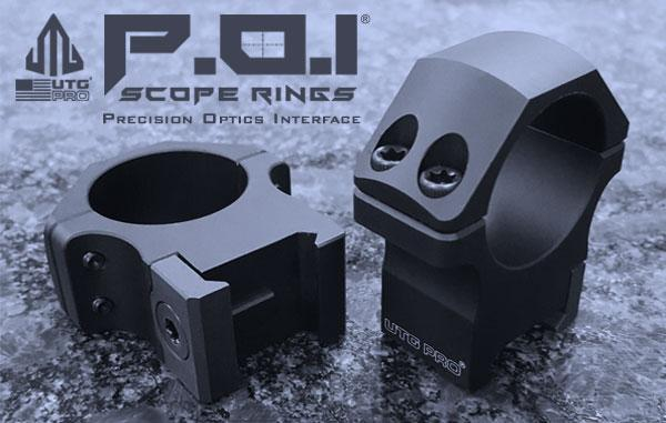 Leapers UTG PRO P.O.I. Tactical Picatinny Rifle Scope Rings MADE IN USA - Australian Tactical Precision
