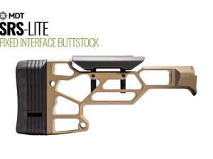MDT Skeleton Rifle Butt Stock LITE SRS-Lite with Adjustable Cheek Rest - Australian Tactical Precision