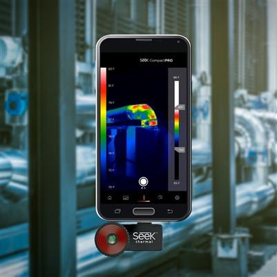 Seek Thermal Compact PRO Fast Frame Extended Range Smartphone Thermal Imaging Camera iPhone/Android - Australian Tactical Precision