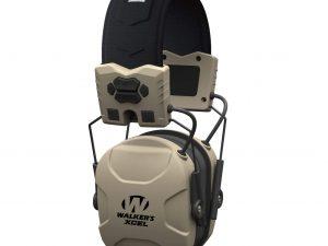 Walker's XCEL 100 Digital Electronic Earmuffs Ear Muffs NRR 26DB Flat Dark Earth FDE #GWP-XSEM - Australian Tactical Precision