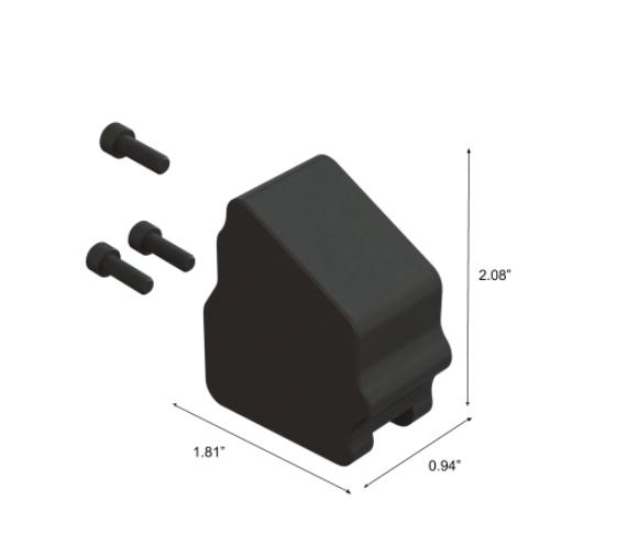 MDT Buttstock Weight for ESS, ACC and SRS V5 #103789-BLK - Australian Tactical Precision
