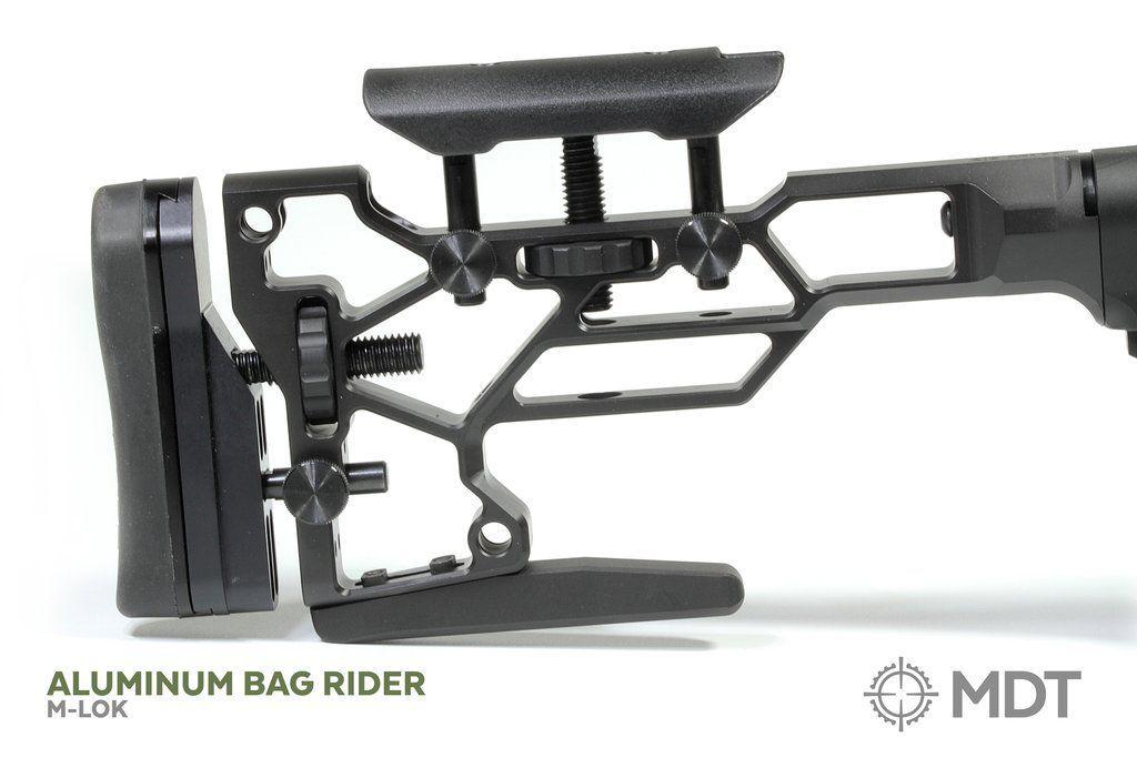 MDT Rear Bag Rider for MDT Buttstocks, M-LOK and Bolt-On - Australian Tactical Precision