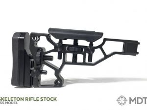 MDT XTN Skeleton Rifle Butt Stock SRS-X and SRS-X Elite for ESS and ACC Rifle Chassis Systems - Australian Tactical Precision