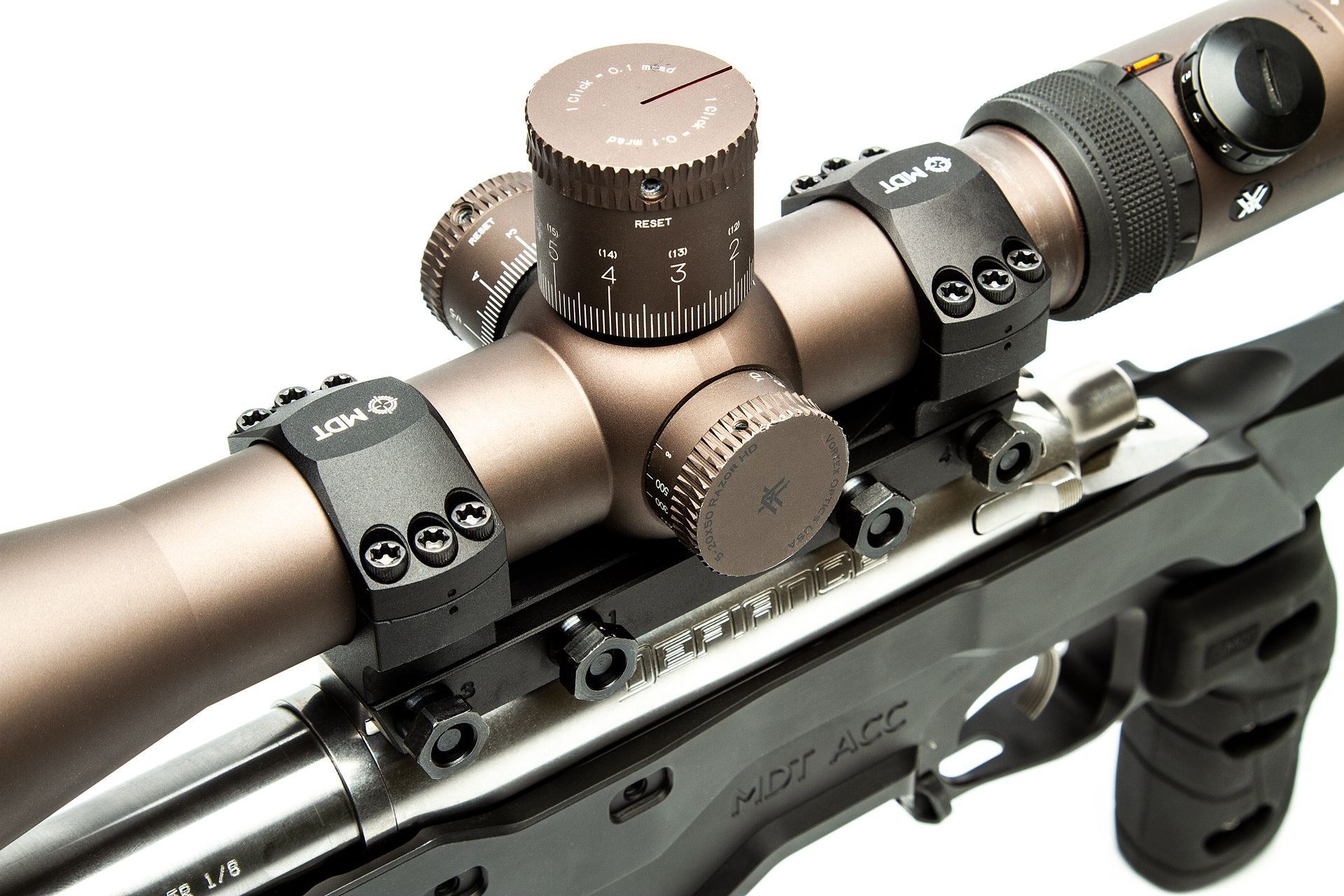 MDT Unimount One Piece Tactical Picatinny Scope Rings - Australian Tactical Precision