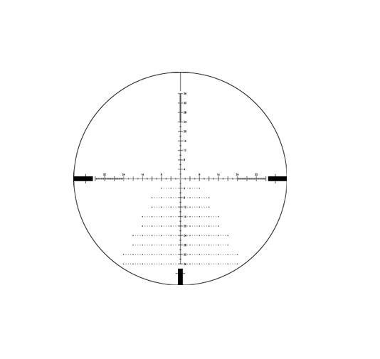 Vortex Diamondback Tactical 6-24x50 FFP Rifle Scope EBR-2C MOA Reticle DBK-10028 - Australian Tactical Precision