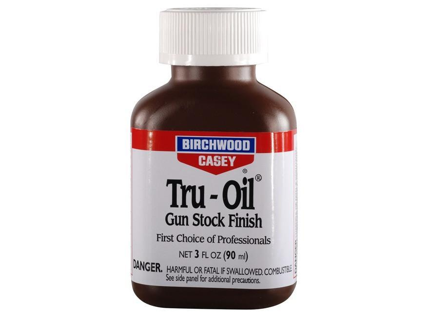 Birchwood Casey Tru-Oil Gun Stock Wood Finish Liquid 3oz #23123 - Australian Tactical Precision