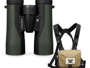 Vortex Crossfire HD 8x42 Binoculars with GlassPak Case CF-4311 - Australian Tactical Precision